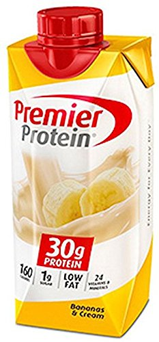 Premier Protein 30g Protein Shake, Banana, v1yut 2Pack (18 Count Each ) by Premier Protein