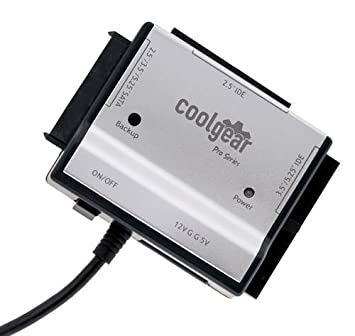 Amazon.com: COOLGEAR Disco Duro SATA y IDE & Optical Drive ...