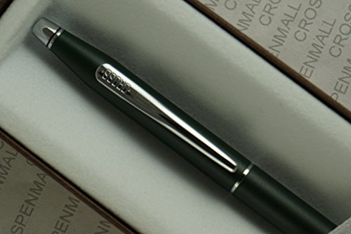ntury Classic Satin Green and polished Chrome Appointments with 0.5mm Lead Mechanical Pencil . ()