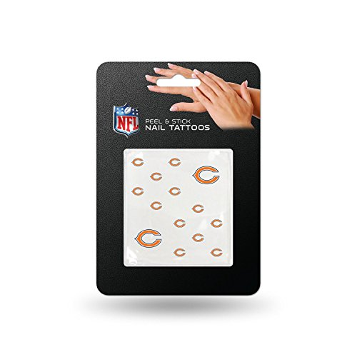 Rico NFL Chicago Bears Nail Tattoos