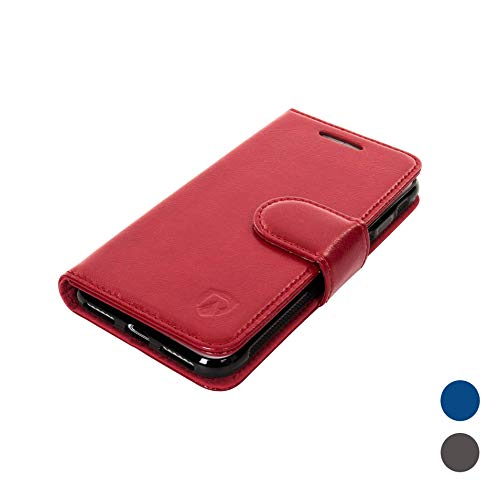 RadiArmor Anti-Radiation Case - Compatible with iPhone 7 Plus/iPhone 8 Plus - Lab Certified EMF Protection (Red)