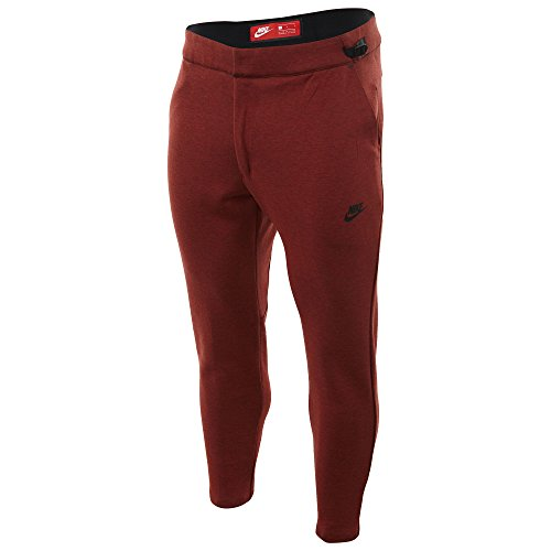 Nike Tech Fleece Cropped Men's Pant Dark Cayenne Heather (Cropped Fleece Pant)