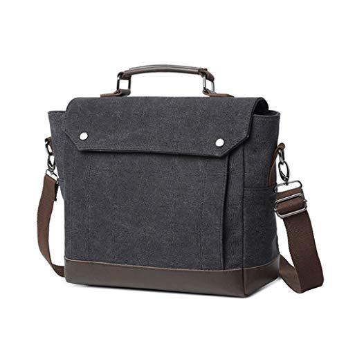 Shoulder Canvas end Portable Bag Black High Messenger Computer Men's gdqOpg