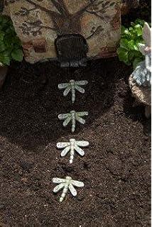 Wonderful Mini Dragonfly Stepping Stones  Set Of 4