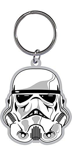 [Star Wars Storm Trooper Helmet Keychain Keyring Keychain Keyring] (Stormtroopers Outfit)