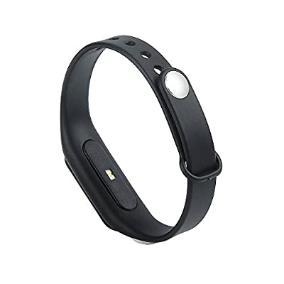 Smart Band Heart Rate Monitor/ Smartband/ Smart Wristband/ Smart Bracelet Fitness Wearable Activity Tracker/ Waterproof Bluetooth Health Fitness Band Includes Heart Rate Monitor for iPhone & Android