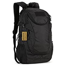 Protector Plus Military Tactical Backpack Rucksack Gear Assault Pack Student School Bag for Hunting Camping Trekking Travel (25L, Black)