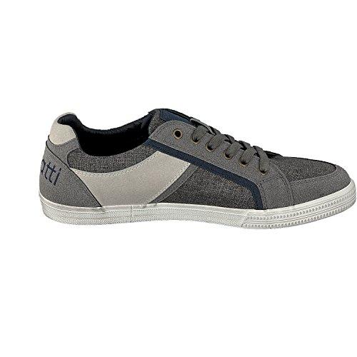 Bugatti Men's K48016v6 Low-Top Sneakers, Blue (Navy 423) Grau