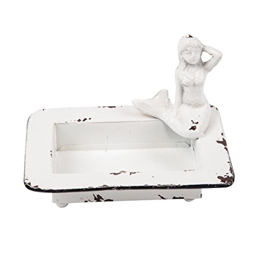 Foreside FDAD03972 Mermaid Soap Dish