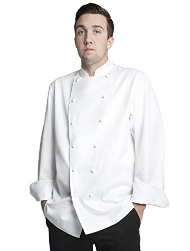 Chefs Executive Jacket (Bragard Men's Grand Chef Jacket Without Pocket 42 White)