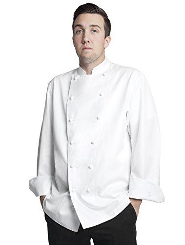 Bragard Men's Grand Chef Jacket Without Pocket 48 White by Bragard