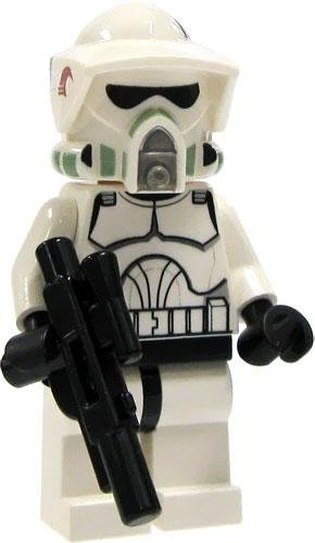 LEGO Star Wars LOOSE Mini Figure EPII Clone Wars ARF Clone Trooper with Blaster - Star Wars Arf Trooper