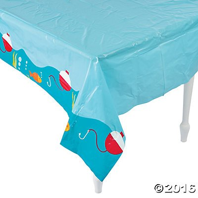 "Little Fisherman Table Cover - 54"" x 108"""