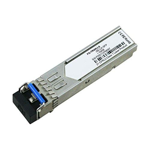 Generic FG-TRAN-LX for Fortinet, 1000BASE-LX/LH SFP transceiver module for MMF and SMF, 1310nm wavelength, 10km, dual LC/PC connector ()
