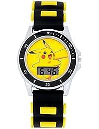 Pokemon Boys LCD Watch (Black Pikachu)