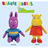 Ty Backyardigans Beanie Baby Set of 2 Beanie Babies (Austin and Tasha)