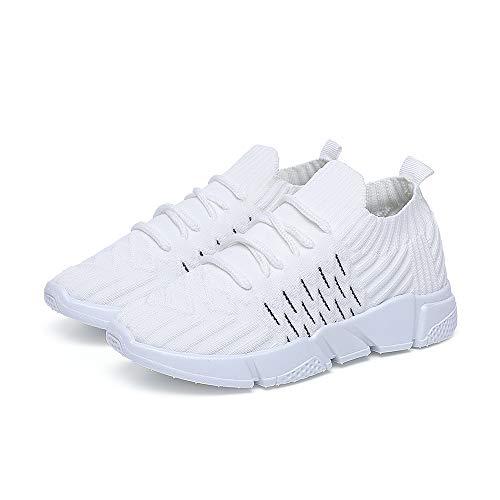 3795681e08bd0 DRKA Kid's Mesh Walking Shoes,Socks Breathable Lightweight Slip On  Sneakers(19108-wte-32)