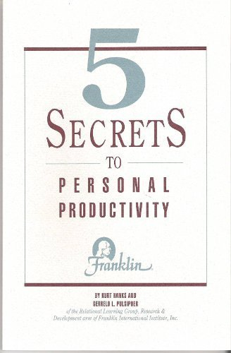 Secrets Personal Productivity Gerreld Pulsipher product image