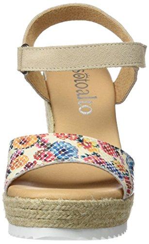 Sotoalto 1403505251, Sandalias con Correa de Tobillo para Mujer Varios colores (Varios)