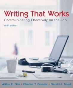 Read Online Writing That Works ,Communicating Effectively on the Job 2006 publication ebook
