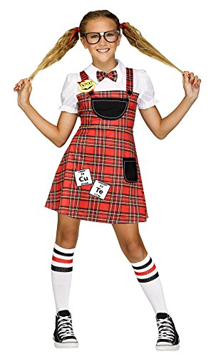 Fun World Head of The Class Nerd Costume -