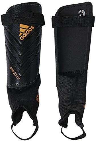 adidas Performance Predator Club Shin Guard, Black/Solar Gold, Large ()