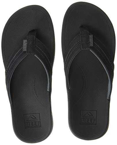 REEF Men's Ortho-Bounce Coast Sandals, Black, 11 from REEF