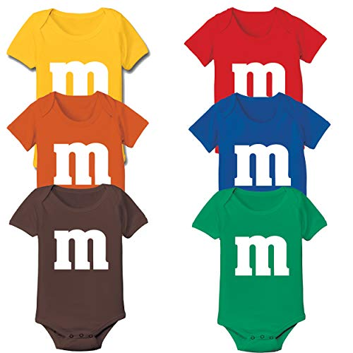 Funny Threads Outlet M Candy Costume Cute Halloween Outfit Group Kids Children Humor Baby One Piece 6 Months -