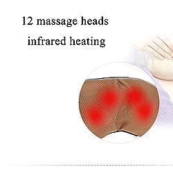 HXXXIN Kneading Massage Shawl, Shoulder Neck and Waist Abdomen, Electric Massager, Cervical Vertebra Massager