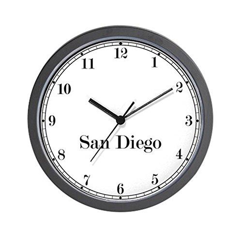 CafePress - San Diego Classic Newsroom Wall Clock - Unique Decorative 10