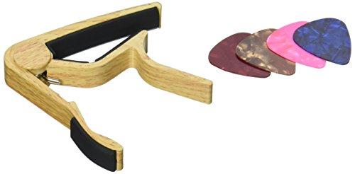 Classical Wood Guitar Strings Capo, Single-handed Guitar Cap
