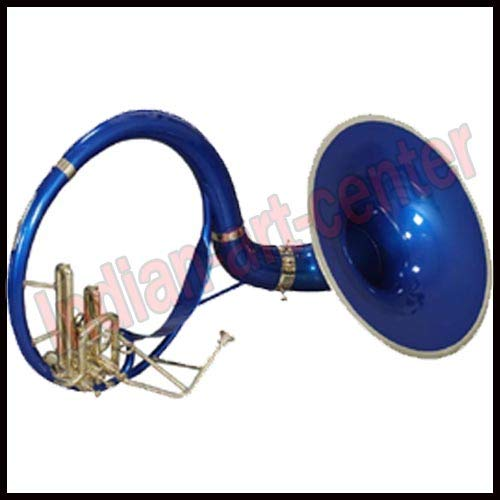 SOUSAPHONE SMALL Bb PITCH BLUE WITH FREE CARRY BAG + MP