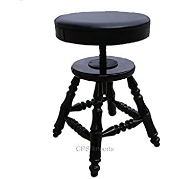 Adjustable Piano Stool Bench  sc 1 st  Amazon.com : adjustable height piano stool - islam-shia.org