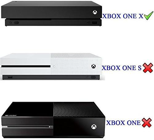eXtremeRate Soporte Vertical para Xbox One X Armazón de enfriamiento Bases para Xbox One Perpendicular Accesorios para la Consola de Xbox One X Negro: Amazon.es: Electrónica