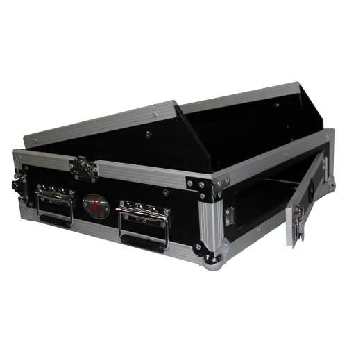 [해외]ProX 케이스 T-2MRSS 2 스페이스 앰프 10 기울기 상부 2U 10U 믹서 DJ 콤보 랙 마운트 케이스/ProX Cases T-2MRSS 2 Space Amp 10 Slanted Top 2U 10U Mixer DJ Combo Rack Mount Flight Case