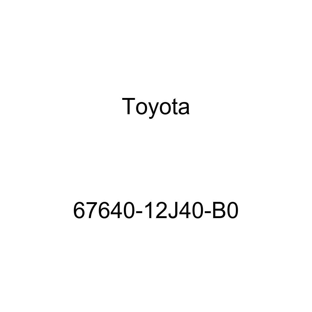 Genuine Toyota 67640-12J40-B0 Door Trim Board