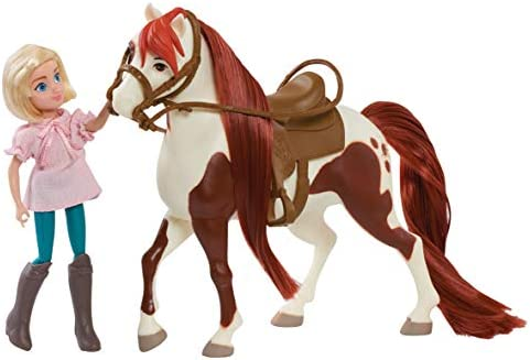 Dreamworks Spirit Riding Free Doll And Classic Horse Prudence And Chica Linda
