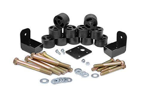 Rough Country - 1157 - 1.25-inch Body Lift Kit for Jeep: 97-06 Wrangler TJ 4WD, 04-06 Wrangler Unlimited LJ 4WD