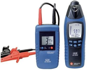 CEM LA-1012 Mini Cable Locator Tester Meter with Transmitter
