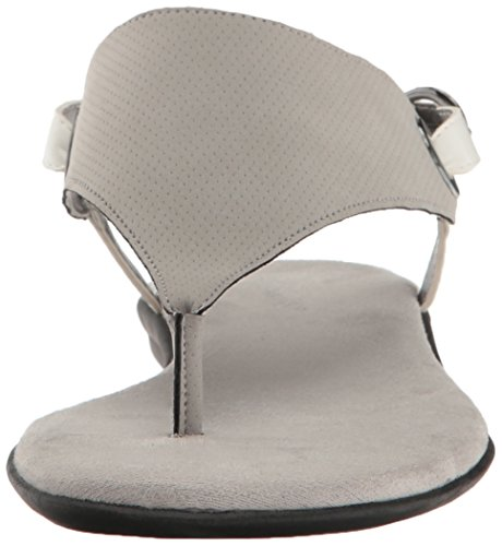 Aerosoles Womens Conchlusion Gladiator Sandal Light Grey Combo R4WHS