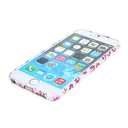 (07#) New Mode Style Bunt Blume Weich TPU Gel Haut Tasche Hülle Schale Schutzhülle Case Cover für Apple iPhone 6 4.7 Zoll
