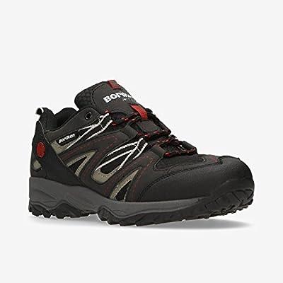 BORIKEN Zapatillas Montaña Negro Hombre (Talla: 46): Amazon.es: Deportes y aire libre