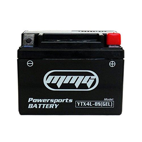 YTX4L-BS High Performance GEL Sealed Battery – ATV TaoTao Cheetah TForce ATA 110cc and ATA 125cc Series