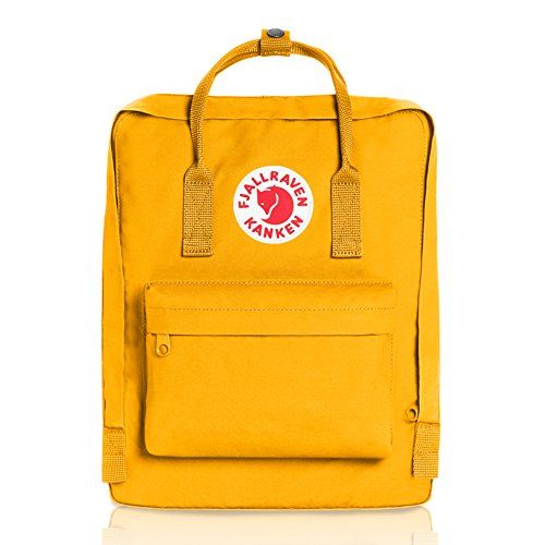 Dual Sport Canvas (Fjallraven Kanken Classic Pack, Heritage and Responsibility Since 1960, Warm Yellow)