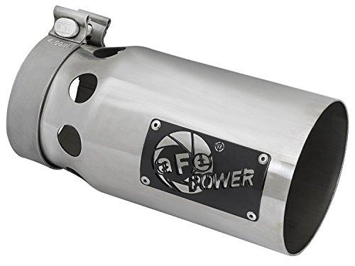 aFe Power 49T40501-P10 Rebel XD Stainless Steel Exhaust Tip ( Series 4in 409 (409 Series)