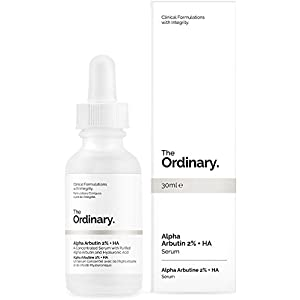 The Ordinary. Alpha Arbutin 2% + Hyaluronic Acid. sŽrum Stain Resistant 30 ml, Clinical Formulations with Integrity