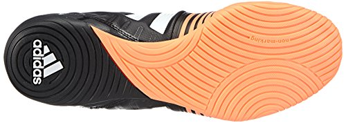 adidas Nitrocharge 3.0 Indoor - Zapatillas de fútbol Hombre Negro (core black/ftwr white/flash orange s15)