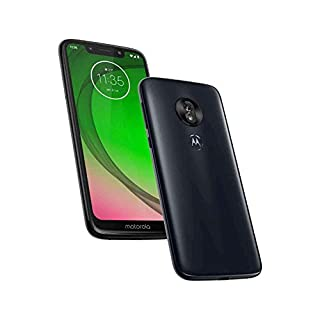 "Motorola Moto G7 Play XT1952 32GB+2GB RAM 5.7"" Max Vision LTE Factory Unlocked (International Model, No Warranty) Deep Indigo (Renewed)"