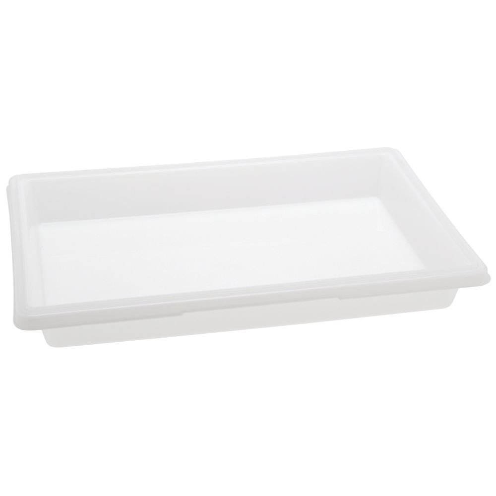 Rubbermaid Commercial Food/Tote Box Lids, 26w x 18d, White - one lid.