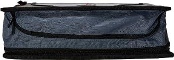 Case-it Mighty Zip Tab 3-inch Zipper Binder, Black, D-146-blk 8